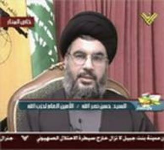 A Speech from Hassan Nasrallah, Leader of Hezbollah, Speaking of a New Middle East Project and Attacks of Greater Intensity than in Haifa