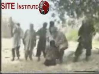 A Video of Jundullah Beheading an Iranian Captive and Holding Others