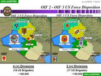 Military Maps of U.S. Divisions in Iraq Posted to Aid Mujahideen