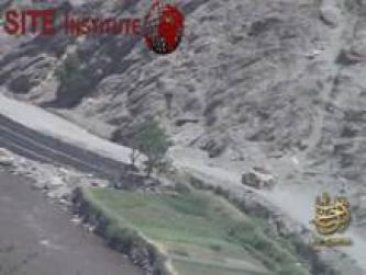 As-Sahab Issues Video of a Bombing Targeting an American Car in Kunar