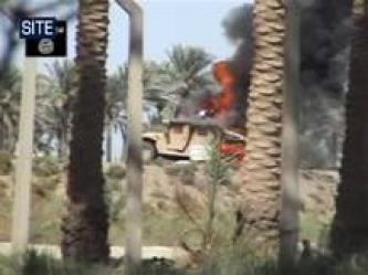 Al-Furqan Foundation Issues Video of Islamic State of Iraq Bombing an American Humvee in Al-Anbar – Al-Ramadi