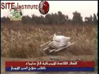 JAMI, the Islamic Iraqi Resistance Front, Issues a Video of Preparing and Launching Chemical Rockets at an American Base in Samarra