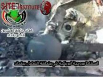 Twentieth Revolution Brigades Claims the Shooting Down of an American Helicopter in al-Fahdil, Baghdad, Providing Video of the Wreckage, Bodies