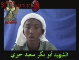 Young Mujahideen Movement in Somalia Issues Video of Suicide Bomber