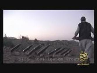 As-Sahab Issues Video of Firing BM Rockets at an American Base in Machadad, Paktika Province in Afghanistan