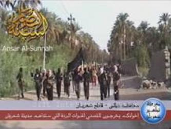 """Battle for Purifying Shahraban of the Soldiers of the Idol Government"" – A Video from Ansar al-Sunnah of an Armed Clash in Diyala"