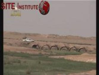 Islamic State of Iraq Issues Video through al-Furqan Foundation of Destroying a Vehicle of the National Guard in Diyala