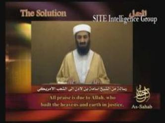"""The Solution"" – A Video Speech from Usama bin Laden Addressing the American People on the Occasion of the Sixth Anniversary of 9/11 – 9/2007"