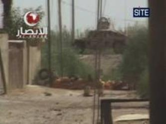 Ansar al-Islam Bombs ING Humvee in Diyala (Video)