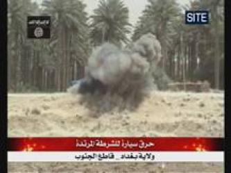 ISI Bombs Police in South Baghdad (Video)