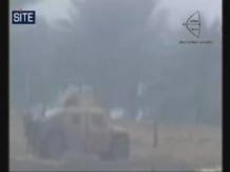 Arrows of Righteousness Bombs Humvee North of Baghdad (Video)