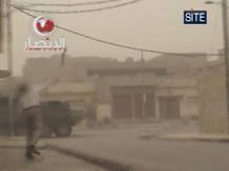 Ansar al-Islam Strikes US Stryker in Mosul (Video)