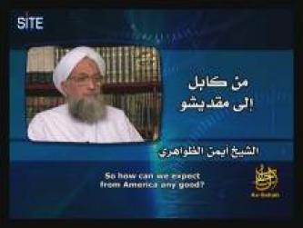 Zawahiri Addresses People of Afghanistan, Gaza, Somalia, and Yemen