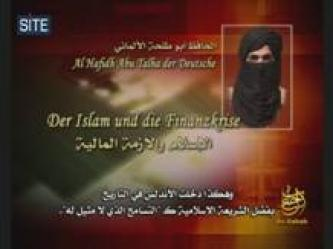 German al-Qaeda Member Speaks on Financial Crisis