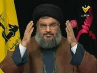Nasrallah Says US Responsible for Prolonging Gaza Offensive