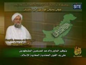 Zawahiri Urges Pakistanis to Support Jihad in English Speech