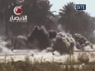 Ansar al-Islam Bombs US Humvees in South Baghdad (Video)