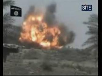 ISI Bombs Iraqi Troop Carrier in Anbar (Video)