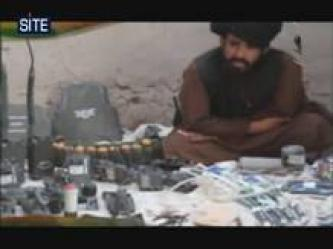GIMF Distributes Video of Items, Weapons Taken in Helmand