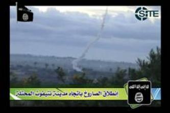 Militant Faction Claims Rocket Strikes in Southern Israel in Video