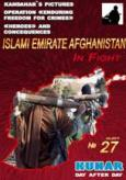 """In Fight"" Magazine Documenting Afghan Taliban Activity, Issue 27"