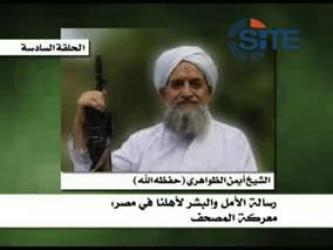 Zawahiri Encourages Libyan and Syrian Revolts, Calls for Shariah Law in Egypt
