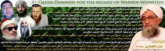 Jihadist Network Prominently Shows al-Qaeda's Prisoner Release Demands