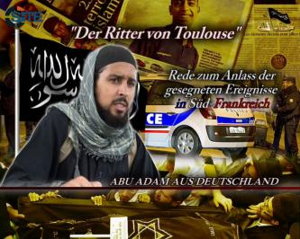 German IMU Member Praises Toulouse Shooter as Example