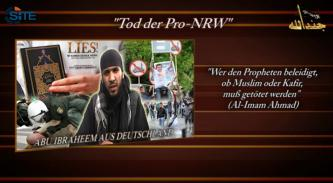 German IMU Member Urges Attacks Against Pro NRW, Media
