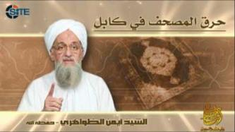 Zawahiri Remarks on Burning of the Qur'an in Afghanistan