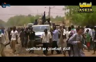 Jihadist Gives Video of Fighters Defending Demonstrators in Gao