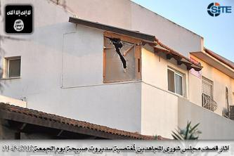 MSC in Jerusalem Claims Rocket Strike on Sderot, Hitting a House