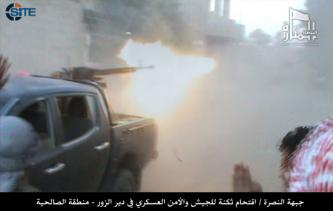 Al-Nusra Front Claims 35 Attacks Including Two Suicide Bombings