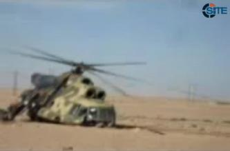 Alleged al-Nusra Front Video Shows Downed Helicopter, Captured Crew