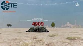 "Pro-IS Group Gives ""3D infographic"" on Two-Months of Mosul Battle"