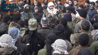 Fighter in IS' Damascus Province Collects Pledge to Abu Bakr al-Baghdadi in al-Hajar al-Aswad City