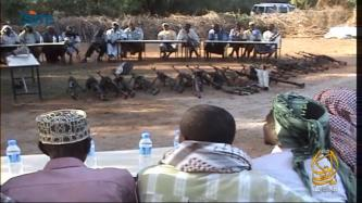 Shabaab Video Shows Weapons Given by Tribes to the Fighters