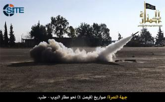 Al-Nusra Front Manufactures its Own Rocket, Claims More than 75 Attacks