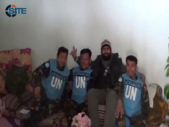 Al-Yarmouk Martyrs Battalion Releases New Video of UN Captives