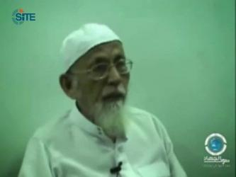 Imprisoned, Radical Indonesian Cleric Calls for Jihad in Syria