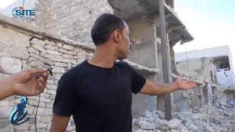 Himam News Reports on Destruction in Aleppo Neighborhood by Regime