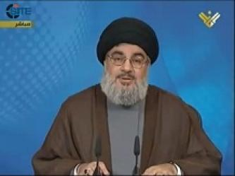 Nasrallah Warns of Consequences of Continued Conflict in Syria, Insists on Political Solution
