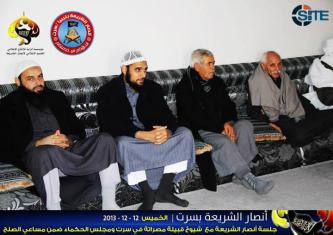 Ansar al-Shariah in Libya Reports on Reconciling Warring Clans in Sirte