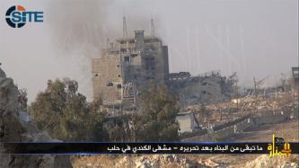 "Al-Nusra Front Says Capture of al-Kindi Hospital is ""Big Step"" Towards Breaking into Aleppo Central Prison"