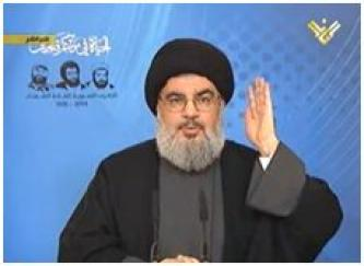 Nasrallah Insists to Keep Fighters in Syria, Reminds of Israeli Danger