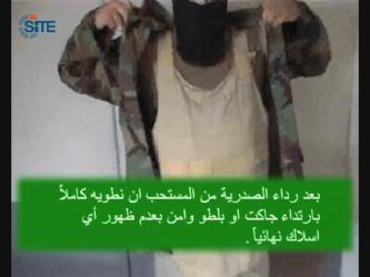 Jihadist Gives Chechen Video Manual for Explosive Vests