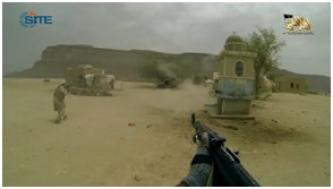 AQAP Video Shows Attack on Yemeni Military Position in Hadramawt