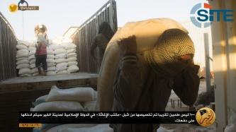 ISIS Show Relief Efforts in Deir al-Zour