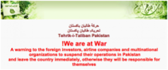 TTP Warns Foreigners in Pakistan to Leave, War is Coming