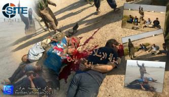 ISIS Publishes Images of Beheading, Executing Enemy Forces